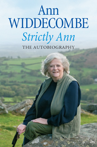 Image of book cover of Strictly Ann - The Autobiography